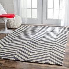 Safavieh Martha Stewart Chalk Stripe Navy Rug Home Decor