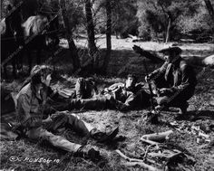 photo Randolph Scott Pernell Roberts Ride Lonesome 3471-14