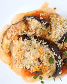 Eggplant Hasselback
