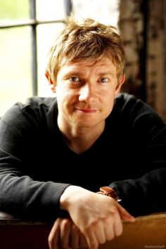 Martin Freeman: Look at that face! I just want to hug it and feed it cookies!