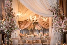 Lily + Paul   Dreamy pink flower-filled Toronto wedding   Photography by: Xero Digital Photography