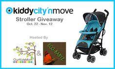 Win a Kiddy City 'N Move Luxury Umbrella Stroller! {11/12; ARV $219; U.S.}