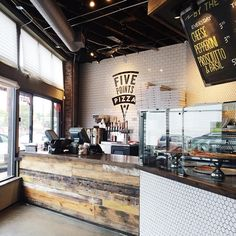 Love love love the new Five Points Pizza Take away shop!! #fivepointspizza #eastnashville #nashvillepizza #barnwood #subwaytile #plainsliceofcool