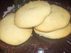 Just made a half-batch tonight. Amish Sugar Cookies Recipe (but only need C batter per cookie unless you want the cookie to fill a plate. Amish Sugar Cookies, Soft Sugar Cookies, Sugar Cake, Sugar Cookies Recipe, Cookie Recipes, Dessert Recipes, Amish Soft Sugar Cookie Recipe, Cake Cookies, Cupcakes