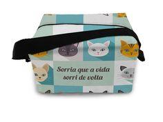 Lancheira Térmica Gatos - 20x15x13cm - Dom Gato -  -  Dom Gato