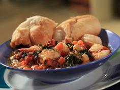Portuguese Fisherman's Shrimp and Chorizo Recipe : Rachael Ray