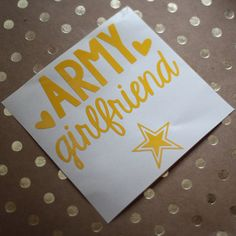 Hey, I found this really awesome Etsy listing at https://www.etsy.com/listing/180660853/army-girlfriendwifemom-car-decal