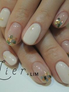 We all want beautiful but trendy nails, right? Here's a look at some beautiful nude nail art. Nude Nails, Manicure And Pedicure, Gel Nails, Fancy Nails, Trendy Nails, Picasso Nails, Do It Yourself Nails, Minimalist Nails, Nail Candy
