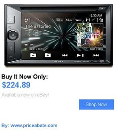 Vehicle Electronics And GPS: Sony Xav-W650bt 2-Din Bluetooth Car Stereo Dvd Receiver W/ 6.2 Touchscreen BUY IT NOW ONLY: $224.89 #priceabateVehicleElectronicsAndGPS OR #priceabate