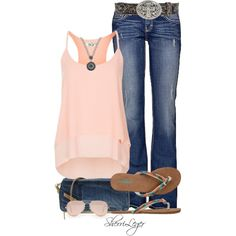 """Untitled #820"" by sherri-leger on Polyvore"