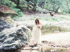 Big Sur Wedding // Elopement //Glen Oaks {Photography by Evynn LeValley, Flowers by Big Sur Flowers}
