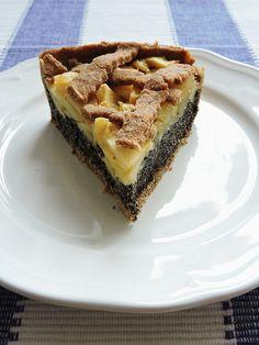 Mřížkový koláč s mákem a jablky