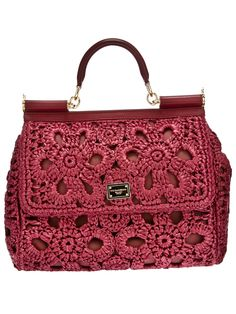 Best 11 Bobble Stitch Handbag Crochet Pattern with Video Tutorial red purse Why spend money on simple bags, when you can Crochet Handbags, Crochet Purses, Crochet Bags, Irish Crochet, Bead Crochet, Free Crochet, Red Purses, Purses And Bags, Bobble Stitch