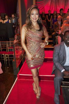 Dancing with the Stars Week 9 Carrie Ann Inaba