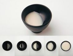 moon glass cup by studio tale