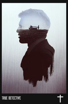 True Detective 'Hart' Character Poster by Circusbrendan on DeviantArt Exposition Photo, Double Exposition, Graphic Design Posters, Graphic Design Inspiration, True Detective Season 1, Double Exposure Photography, Keys Art, Multiple Exposure, Alternative Movie Posters