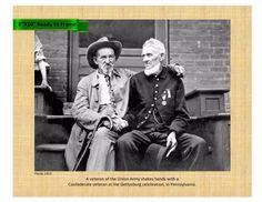 "American Civil War Veterans Reunion Gettysburg 1913 8""X10"" reprint"