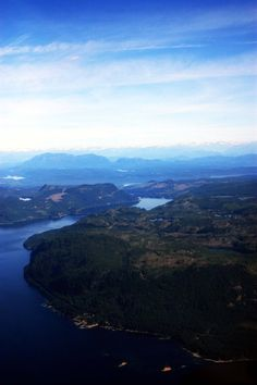 A view of the are just outside of Campbell River from a helicopter Vancouver Island, British Columbia, Worlds Largest, The Outsiders, Canada, Deviantart, River, Outdoor, Outdoors