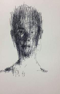 pencil on paper 2013 by KwangHo Shin, via Behance