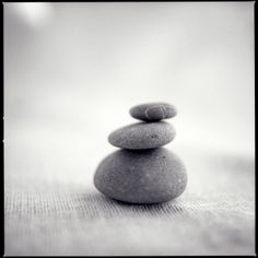 stacked rocks...