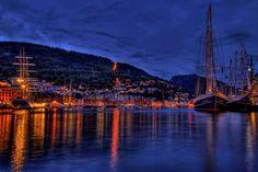 2008 Tall Ships' Race calling into Bergen