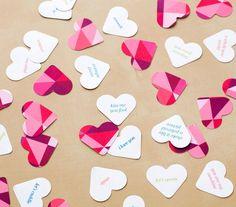 Whether you're having a romantic dinner, hosting a Galentine's Day party, or throwing a kids' bash, you can set the scene with these easy-to-make party decorations.
