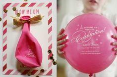 En Güzel Düğün Davetiye Balonları