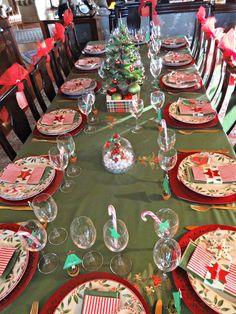decoracion mesa nochebuena