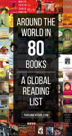 Ready for some serious armchair travel? Here are books from the eighty most populated countries in the world.