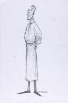 Concept Art, Lalo, Ratatouille, 2007