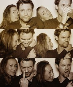 are shane west and maggie q together | ... source about ER. • Shane West and Maggie Q - Comic Con Portraits