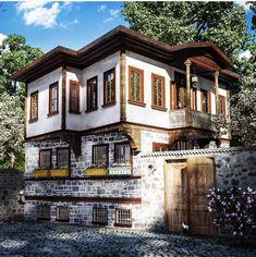 Ankara evleri, Türkiye.
