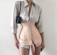 Women new look Look Fashion, Korean Fashion, High Fashion, Fashion Outfits, Womens Fashion, Fashion Design, Corset Outfit, Dolce & Gabbana, Little Mix