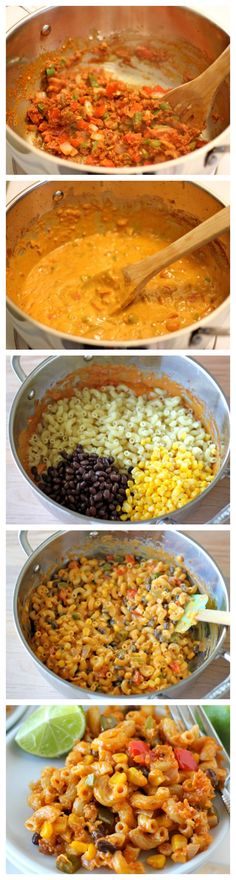 Mac and Cheese Chorizo Mac and Cheese Recipe ~ Mexican-style, veggie-loaded mac and cheese the whole family will love!Chorizo Mac and Cheese Recipe ~ Mexican-style, veggie-loaded mac and cheese the whole family will love! Chorizo Recipes, Mexican Food Recipes, Dinner Recipes, I Love Food, Good Food, Yummy Food, Tasty, Pasta Dishes, Food Dishes
