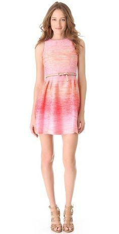 Shoshanna Freyja Ombre Tweed Dress   $395.00