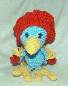 Pierre der kleine französische Papagei