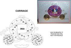 Carriage Princess Iris Fold Card