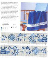 "Gallery.ru / thabiti - Альбом ""Blue&White Cross Stitch"""