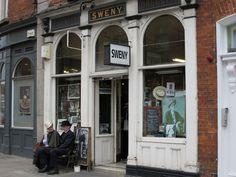 Sweny's Pharmacy, 1 Lincoln Place, Dublin   https://c1.staticflickr.com/1/461/18532115614_08f9d51b5c_b.jpg