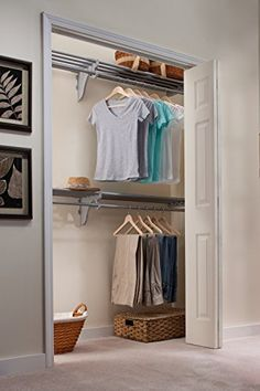 Elegant Closet Organizer Kit. Up To 12.2 Ft. Of