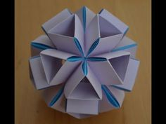 Kusudama cookie cutter - how to made - tutorial completo - YouTube
