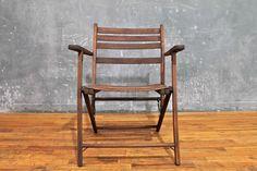 Rustic Folding Armchair