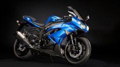 Kawasaki Ninja Blue....I'd save some gas with this baby.....