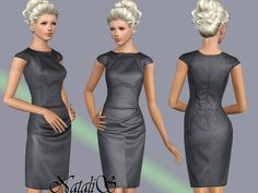Office Dress by NataliS  http://www.thesimsresource.com/downloads/1168538