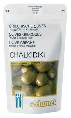 Dumet - Grüne Oliven Chalkidiki - 270g/150g: Amazon.de: Lebensmittel & Getränke