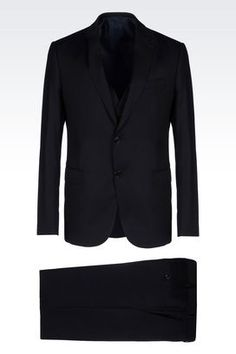 1f3004064b14 Armani Collezioni Men Suits at Armani Collezioni Online Store Armani  Clothing, Single Breasted, Well