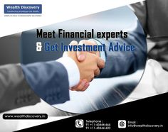 A sound advice can generate magical results in ‪#‎Share‬ ‪#‎Trading‬. Talk to our experts, visit @ www.wealthdiscovery.in Delhi, India Financial Times Financialexpress.com ‪#‎financial‬ ‪#‎wealth‬ ‪#‎trade‬ ‪#‎stocks‬ ‪#‎equity‬ ‪#‎bse‬ ‪#‎nse‬ Mumbai, India BSEIndia Nse Bse IndiaStock IndiaStock Tips