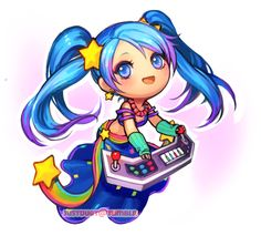 chibi arcade sona :3 thanks everyone who watched me stream this XD classic sona inc~