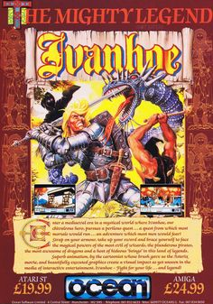 Ivanhooooooe! (1990) #retrogaming #bitstory