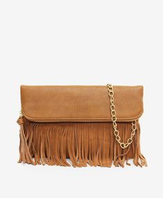 6921c33b6713 Fringe Flapover Shoulder Bag - Sam Moon Mini Bag